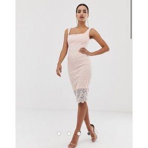 Vesper Lace Body Con Dress